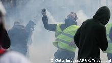 Frankreich Gelbwesten Proteste in Rouen