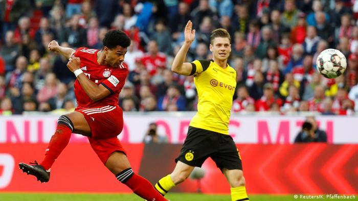 Bundesliga Bayern München gegen Borussia Dortmund (Reuters/K. Pfaffenbach)