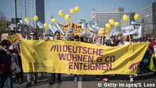Protest against rent in Berlin (Getty Images/S. Loos)