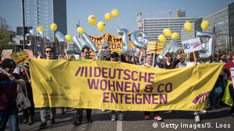 Rent protest in Berlin (Getty Images/S. Loos)