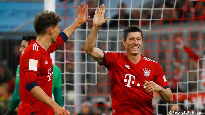 Bundesliga Bayern München gegen Borussia Dortmund (Reuters/K. Paffenbach)
