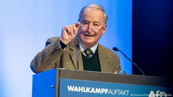 Deutschland Auftakt zum Europawahlkampf der AfD (picture-alliance/dpa/F. Sommer)