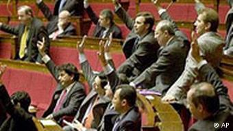 Francuski parlament 2001.