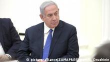 Russlands Präsident Putin trifft sich mit dem israelischen Präsidenten Benjamin Netanjahu