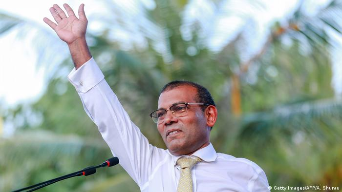 Mohamed Nasheed (Getty Images/AFP/A. Shurau)