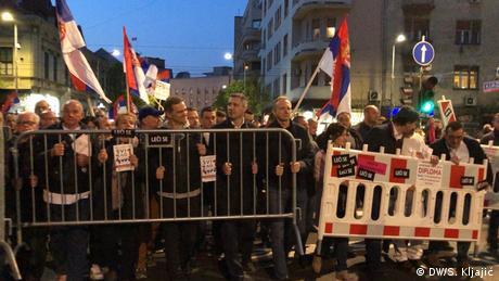 Νέες μαζικές διαδηλώσεις αύριο στο Βελιγράδι