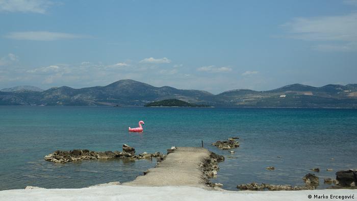 Kroatien Bucht Mali Ston