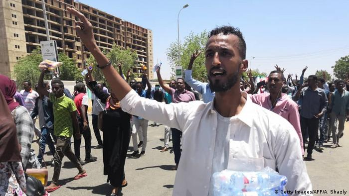 Sudan Anti-Regierungsproteste in Khartum (Getty Images/AFP/A. Shazly)