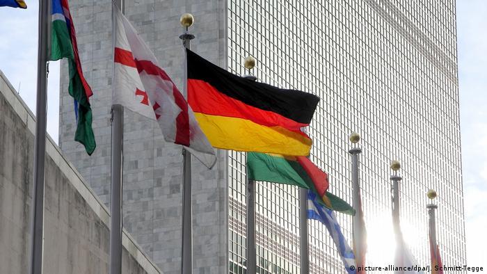 USA Deutschland und Frankreich teilen sich Vorsitz im Sicherheitsrat der UN