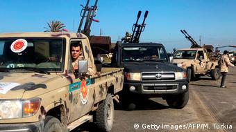 Войска поддерживаемого ООН Правительства национального согласия в Ливии
