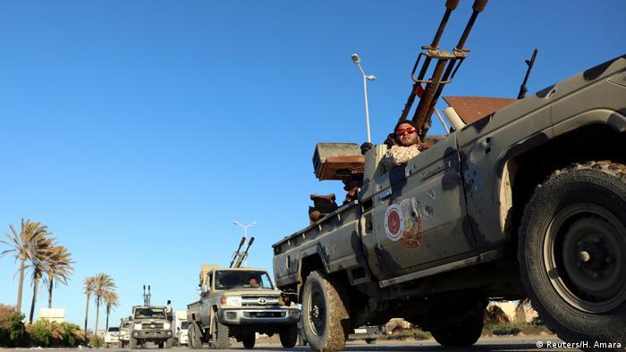 Contraofensiva de las tropas del gobierno de la unidad en Libia