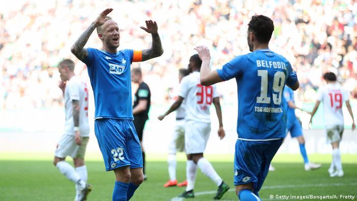 Bundesliga FC Augsburg v TSG 1899 Hoffenheim | Tor Belfodil (Getty Images/Bongarts/A. Pretty)