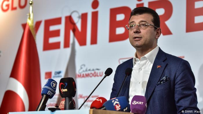 Переможець виборів мера Стамбула Екрем Імамоглу