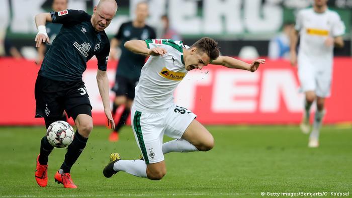 Deutschland Borussia Moenchengladbach v SV Werder Bremen