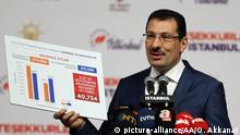 Türkei Ali Ihsan Yavuz stellvertretender AKP Vorsitzender