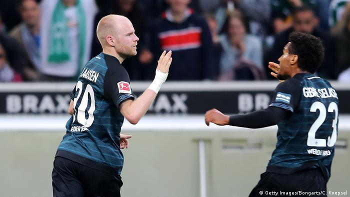 Fußball Bundesliga Borussia Mönchengladbach - Werder Bremen (Getty Images/Bongarts/C. Koepsel)