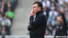 Fußball Bundesliga Borussia Mönchengladbach - Werder Bremen Dieter Hecking