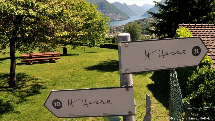 Hermann Hesse hiking trail in Ticino (picture alliance / Rolf Haid)