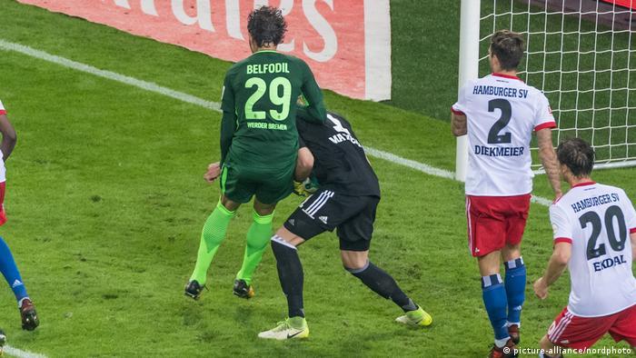 Fußball Bundesliga Hamburger SV - Werder Bremen