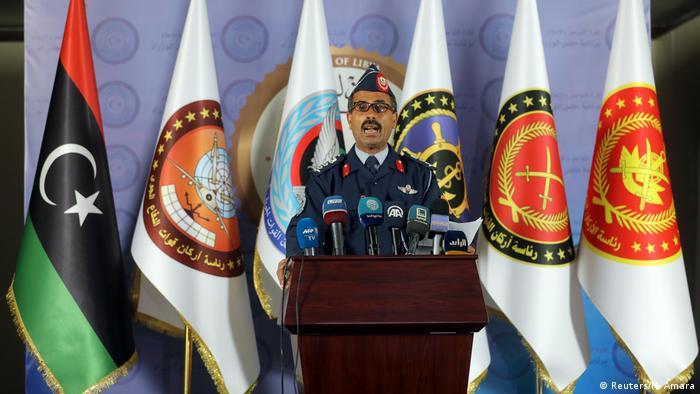 Libyen Mohamed Ghnouno GNA-Sprecher