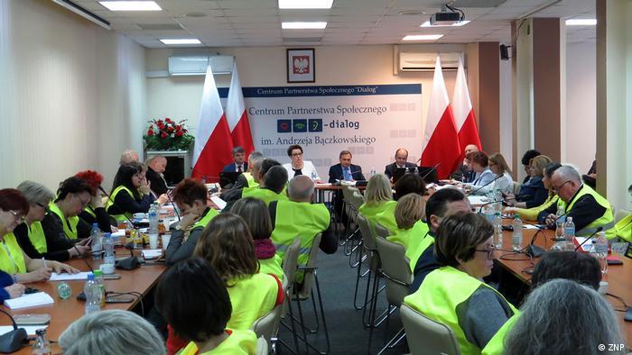Lehrerstreik in Polen