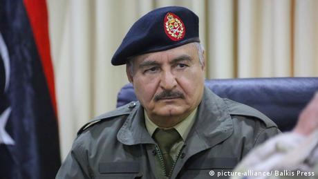 خليفة حفتر، قائد الجيش الوطني الليبي