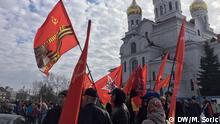 Russland Arkhangelsk - Proteste gegen Müll