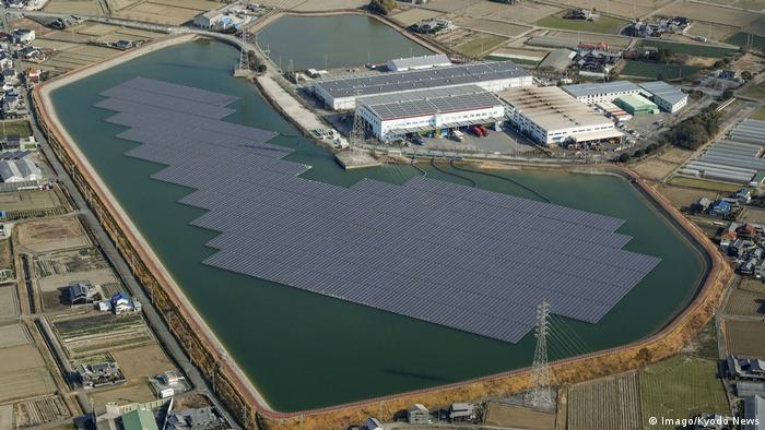 Плавуча сонячна електростанція в японському Інамі