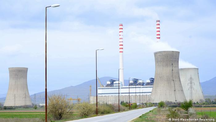 Das Bergbau und Energie Kombinat REK Bitola (Nord-Mazedonien Regierung)