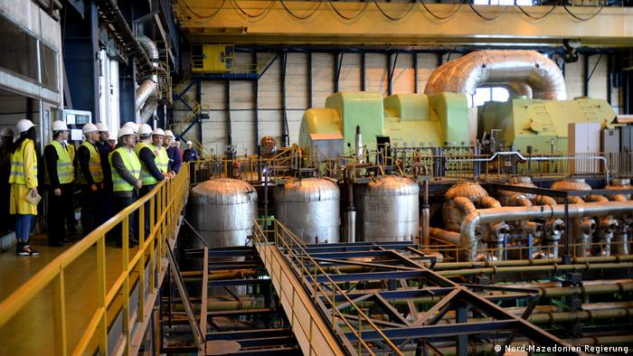 Das Bergbau und Energie Kombinat REK Bitola