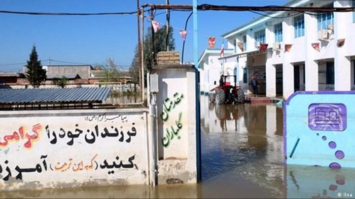 Iran Hochwasser in Khuzistan (Ilna)