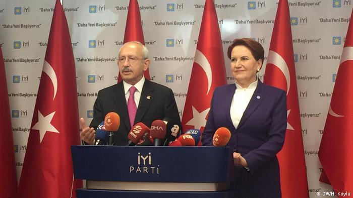 CHP ve İYİ Parti liderleri Kemal Kılıçdaroğlu ve Meral Akşener