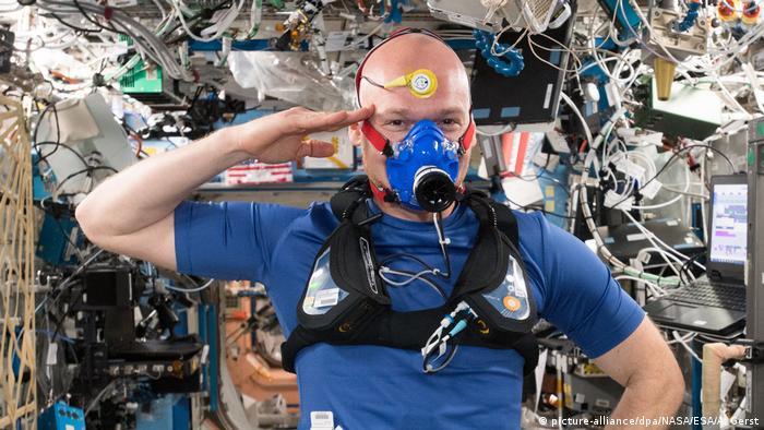 Raumstation ISS - Alexander Gerst