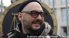 Kirill Serebrennikov - Theater- und Filmregisseur spricht zur Presse nachdem ihn das Moskauer Gericht entlassen hat