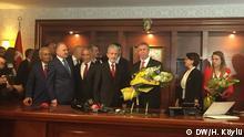 Türkei Ankara - Zeremonie zur Amtseinführung von Mansur Yavas als neuer Bürgermeister von Ankara