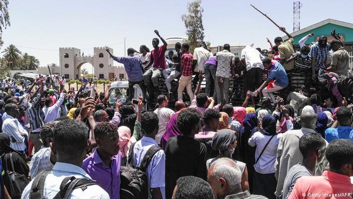 Sudan Proteste gegen Staatschef Al-Baschir in Khartum