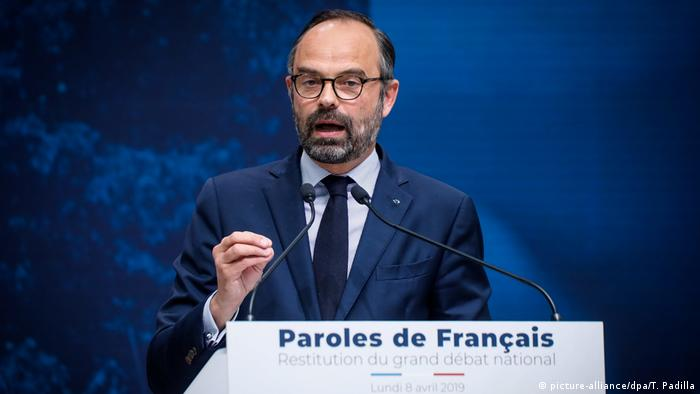French Prime Minister Edouard Philippe (picture-alliance/dpa/T. Padilla)