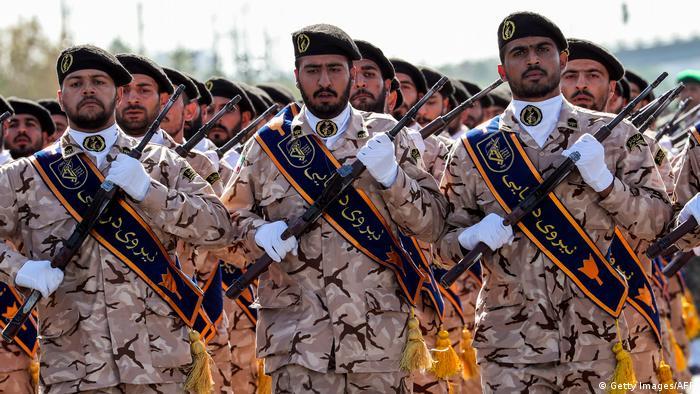 Resultado de imagen para iran Guardianes de la Revolución,dw