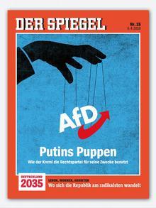 Cover of German magazine DER SPIEGEL from 6.4.2019