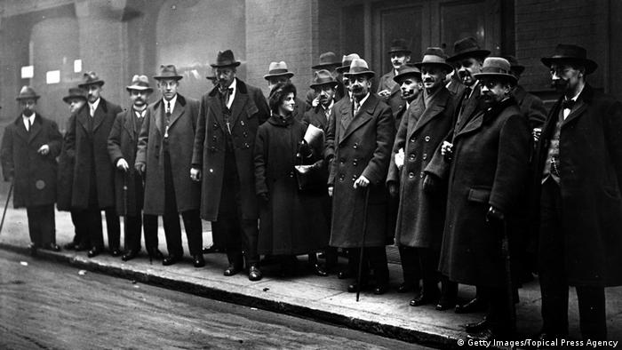 ILO Konferenz in London 1920 (Getty Images/Topical Press Agency)