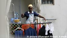 Äthiopische Hausangestellte im Libanon