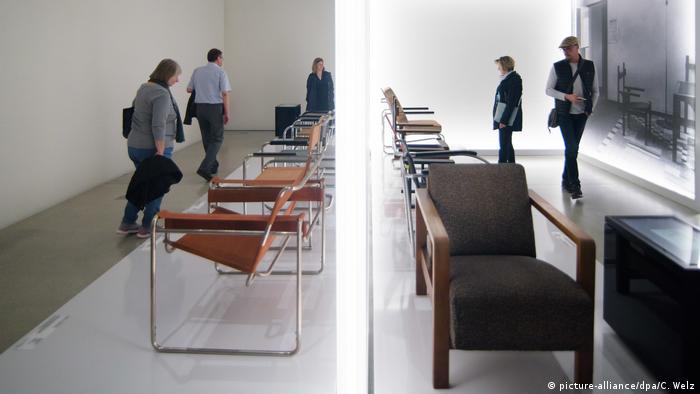 Мебель в Музее Баухауса
