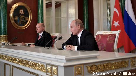 """""""Κλειδί"""" για την επόμενη μέρα η συνάντηση Πούτιν-Ερντογάν"""