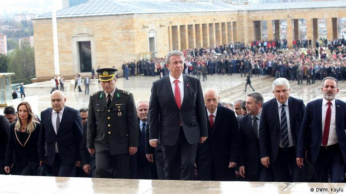 Türkei Kommunalwahl 2019   Mansur Yavaş (CHP), neuer Oberbürgermeister in Ankara