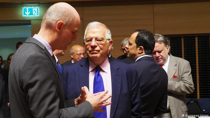 Luxemburg Europäisches Parlament Josep Borrell