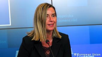 Luxemburg Europäisches Parlament Federica Mogherini