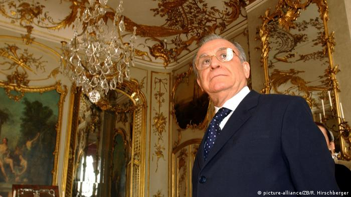 Ion Iliescu (picture-alliance/ZB/R. Hirschberger)