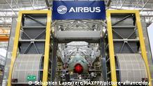 Frankreich Airbus-Werk in Toulouse
