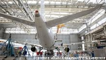 An Airbus factory in Toulouse (picture-alliance/dpa/MAXPPP/S. Lapeyrere)