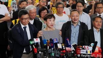 China Anführer der Demokratiebewegung in Hongkong schuldig gesprochen